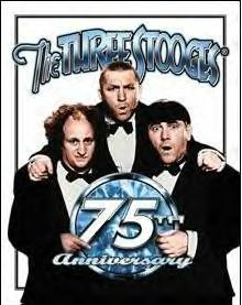 Three Stooges - 75th Anniversary (SOLD OUT)
