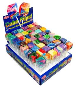 Tie Dye Cube Pops 48ct.