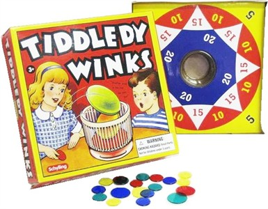 Tiddledy Winks Game (Sold Out)