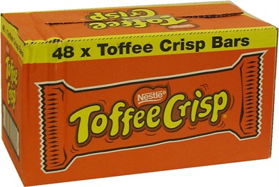 Toffe Crisp Bars 48ct. (sold out)