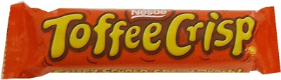 Toffee Crisp Bar (discontinued)