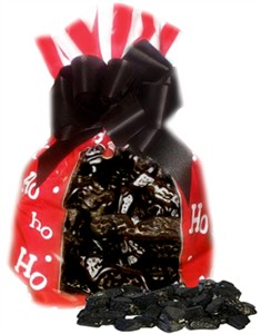 Ho Ho Ho Christmas Coal Bag (sold out)