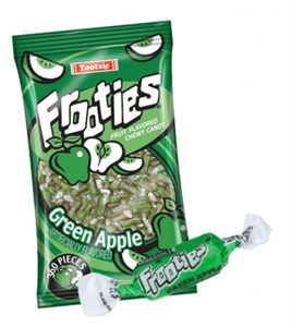 Tootsie Frooties - Green Apple 360ct.