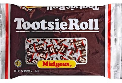 Tootsie Midgee Rolls - 1LB