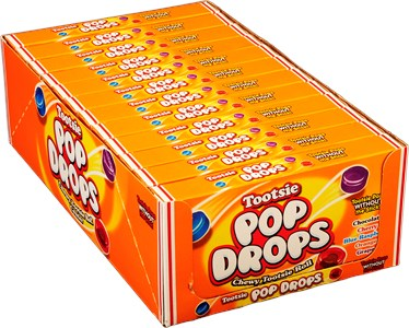 Tootsie Pop Drops Theatre Size Boxes 12ct.