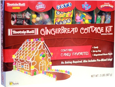 Tootsie Roll Gingerbread Cottage Kit (sold out)
