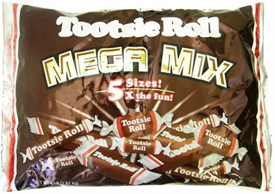 Tootsie Roll Mega Mix 4lb (sold out)