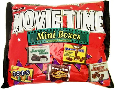 Tootsie Roll Movie Time Favorites Mini Boxes (sold out)