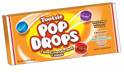 Tootsie Pop Drops Theatre Box 3.5oz
