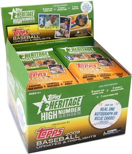 Topps 2009 Heritage High Series Baseball Cards 24ct. (Sold Out)