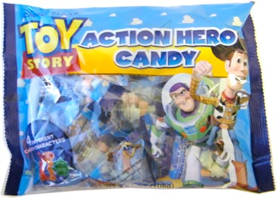 Toy Story Action Hero Candy Bags (DISCONTINUED)