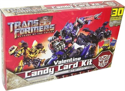 Transformers Valentine Candy Card Kit 30ct. (Sold Out)