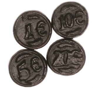 Gustaf's Salt Licorice Coins 2.2LB
