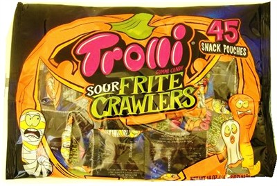 Trolli Sour Frite Crawlers Gummi Candy 45ct. (DISCONTINUED)