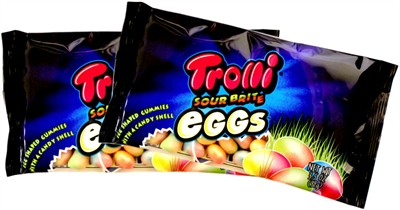 Trolli Sour Brite Easter Eggs