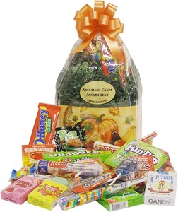 Autumn Harvest Nostalgic Candy Basket (Sold Out)
