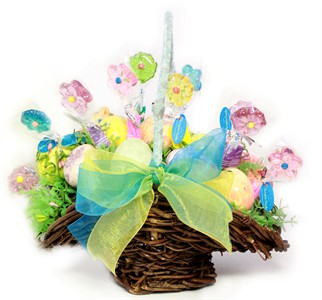 Twinkle Flower Easter Egg Basket