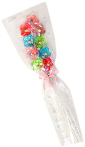 Flower Twinkle Pop Lollipop Bouquet