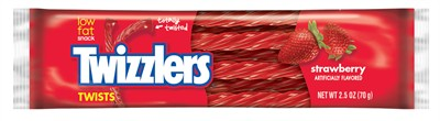 Twizzlers Strawberry Licorice Twists - 2ct.