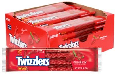 Twizzlers Strawberry Licorice Twists - 36ct.