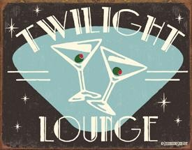 Twilight Lounge Sign by Schonberg (SOLD OUT)
