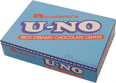 U-NO Candy Bars