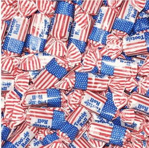 USA Flag Tootsie Rolls - 1LB (Coming Soon)