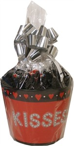 Valentine Kisses Keepsake Tin Pail (Sold Out)