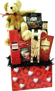 Valentine's Day Snack Basket XOXO (DISCONTINUED)