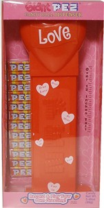 Valentine Giant PEZ Dispenser (DISCONTINUED)