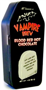 Vampire Brew Blood Red Hot Chocolate (coming soon)