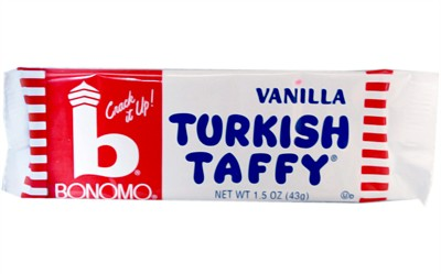 Bonomo Turkish Taffy - Vanilla - 2ct. (coming soon)