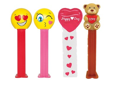 Valentine PEZ Dispensers 12ct