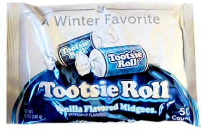 Vanilla Tootsie Roll Midgees Limited Edition 16oz.