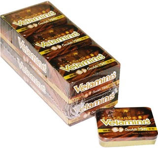 Velamint Chocolate Mints 12ct (DISCONTINUED)