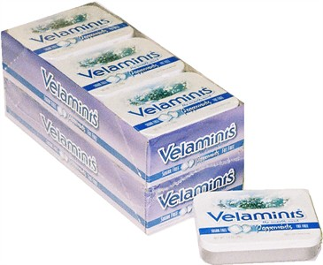 Velamint Peppermint Tin 12ct (DISCONTINUED)