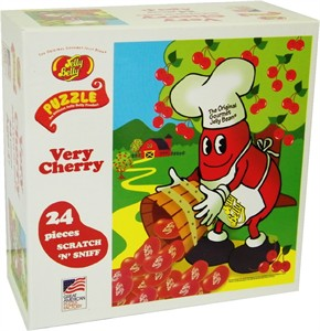 Jelly Belly Very Cherry Scratch 'N' Sniff Puzzle (sold out)