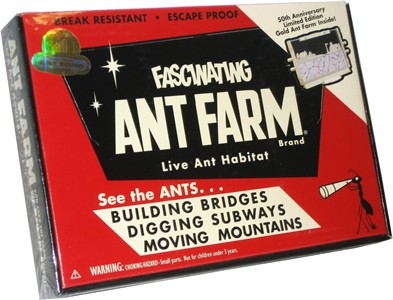 Vintage Ant Farm Limited Edition Live Ant Habitat (sold out)