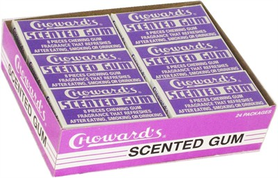 C. Howard Violet Chewing Gum  24ct