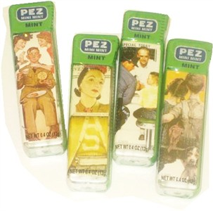 Vintage PEZ Mini Mints 4ct. (DISCONTINUED)