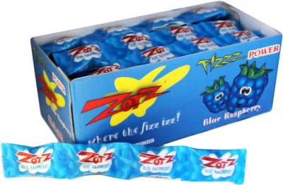 Zotz Fizz Power Candy - Blue Raspberry 24ct.