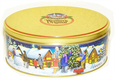 Werther's Originals Collectible Christmas Tin (DISCONTINUED)