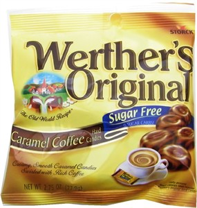 Werther's Sugar Free Caramel Coffee Hard Candies 2.75oz. (Sold Out)