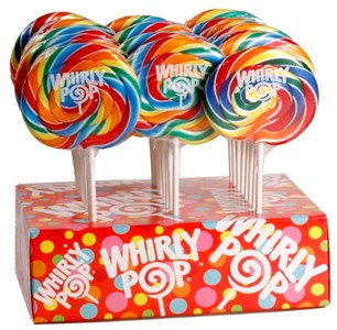 Whirly Pop 1.5 oz - 3 inch 60ct