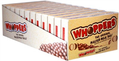 Whoppers Malted Milk Balls Theater Boxes - 12ct.