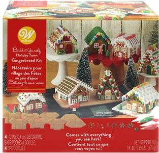 Wilton Gingerbread Mini Village Kit (coming soon)