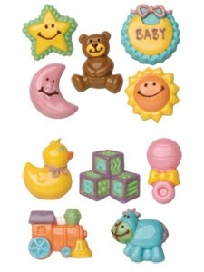 Wilton's Baby 2-Pack Candy Mold (Sold out)