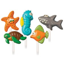 Wilton's Sea Creatures Lollipop Mold (Sold Out)