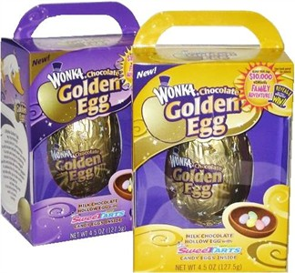 Wonka Chocolate Golden Egg Gift Box (sold out)
