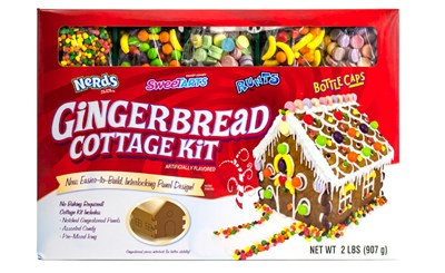 Wonka Gingerbread Cottage Candy Kit